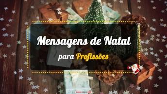 Mensagens e Vídeos de Natal para Profissões