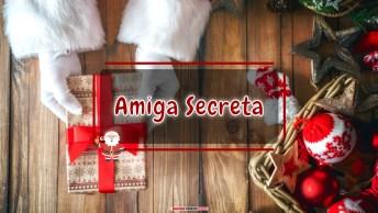Mensagens e Vídeos de Natal para Amiga Secreta