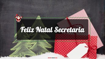 Mensagens e Vídeos de Natal para Secretaria