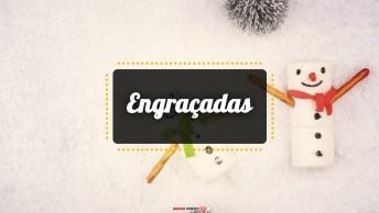 Mensagens e Vídeos de Natal Engraçada