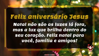 Feliz Aniversário Jesus!