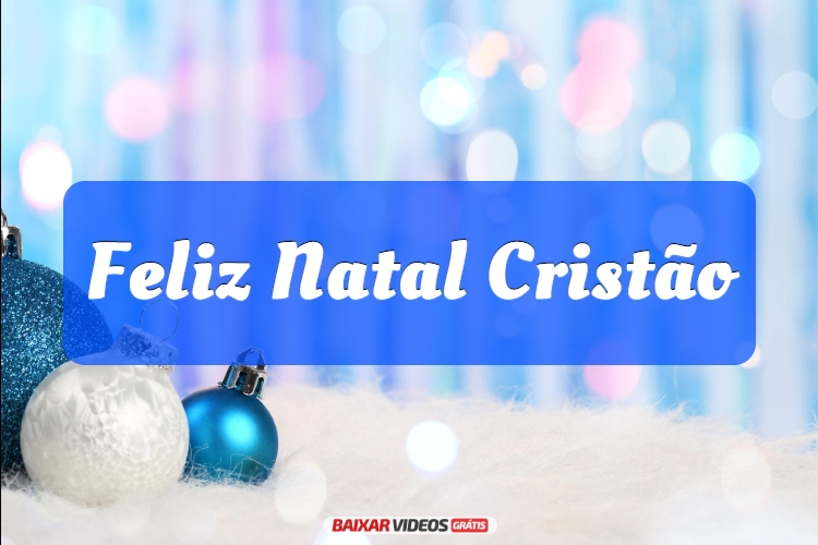Feliz Natal Cristão