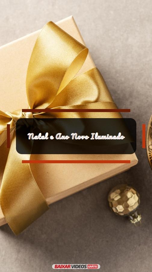 Natal e Ano Novo Iluminado