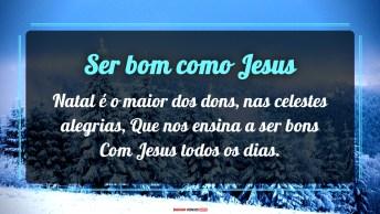Ser Bom Como Jesus