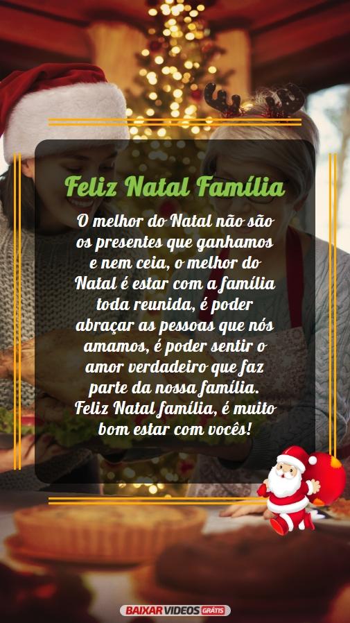Familia, nosso maior presente