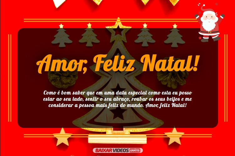 Amor, Feliz Natal!