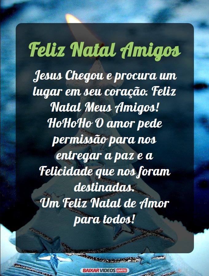 Feliz Natal Amigos com Jesus