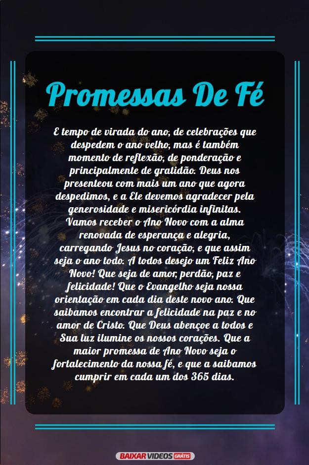 Promessas de fé