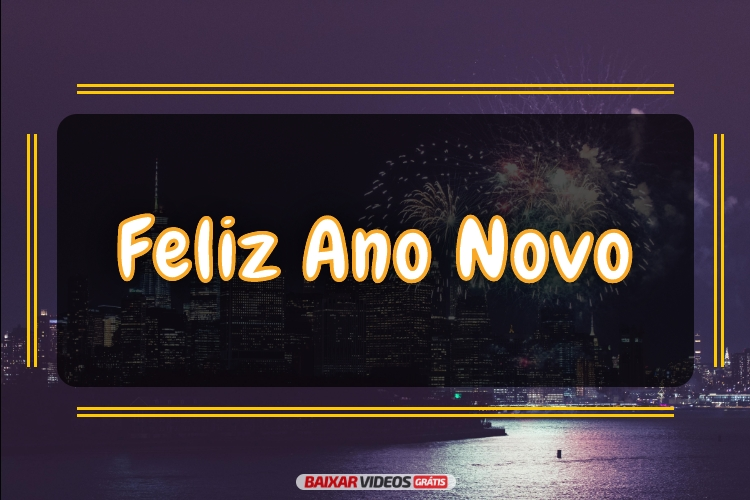 Um maravilhoso Ano Novo