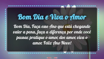 Bom Dia E Viva O Amor