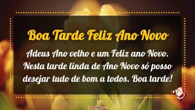 Nesta Tarde Linda De Ano Novo - Mensagens e Vídeos de Ano Novo para Desejar Boa Tarde