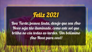 Uma Linda Tarde De Ano Novo - Mensagens e Vídeos de Ano Novo para Desejar Boa Tarde