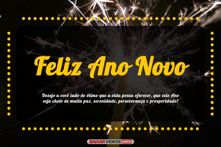 Ano Novo Com Paz E Prosperidade Feliz Ano Novo