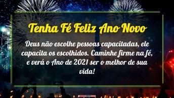 Tenha Fé Feliz Ano Novo