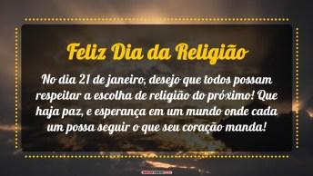 Feliz Dia Da Religião