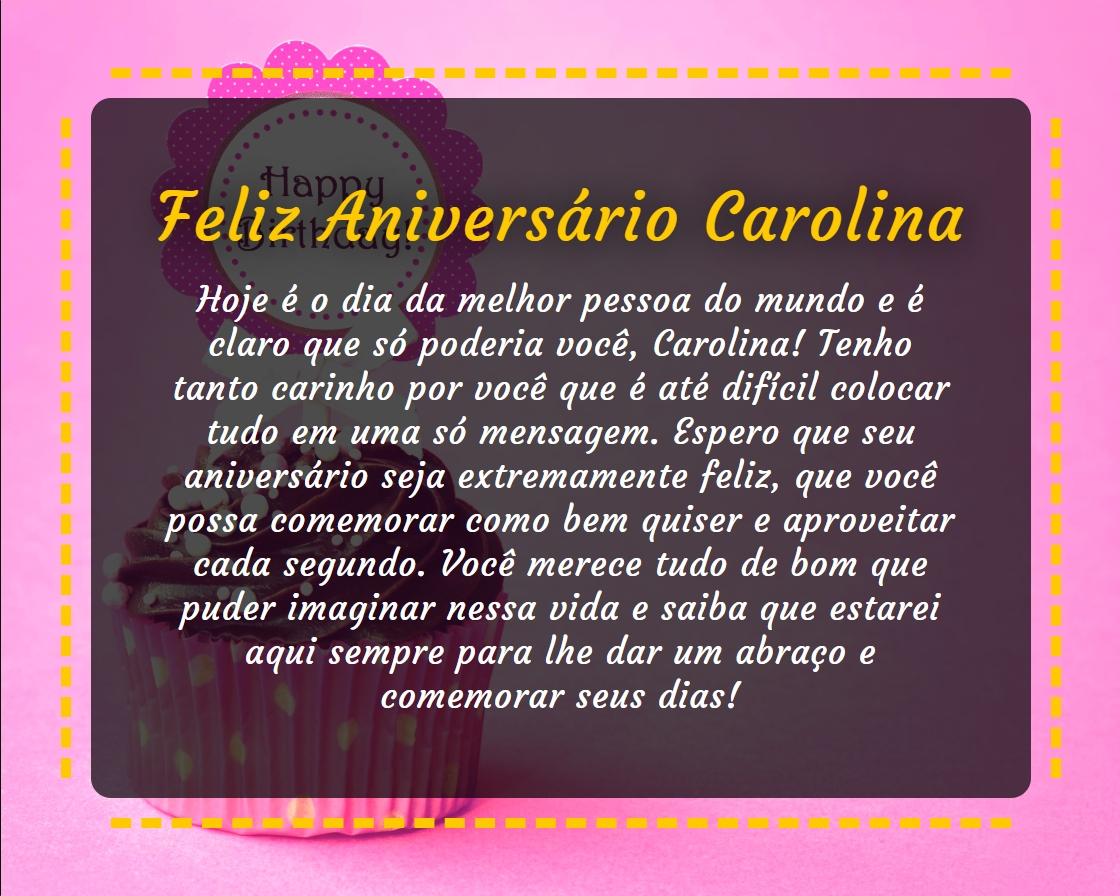 Feliz Aniversário para melhor pessoa