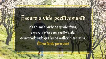 Encare A Vida Positivamente