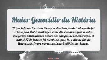 Maior Genocídio Da História