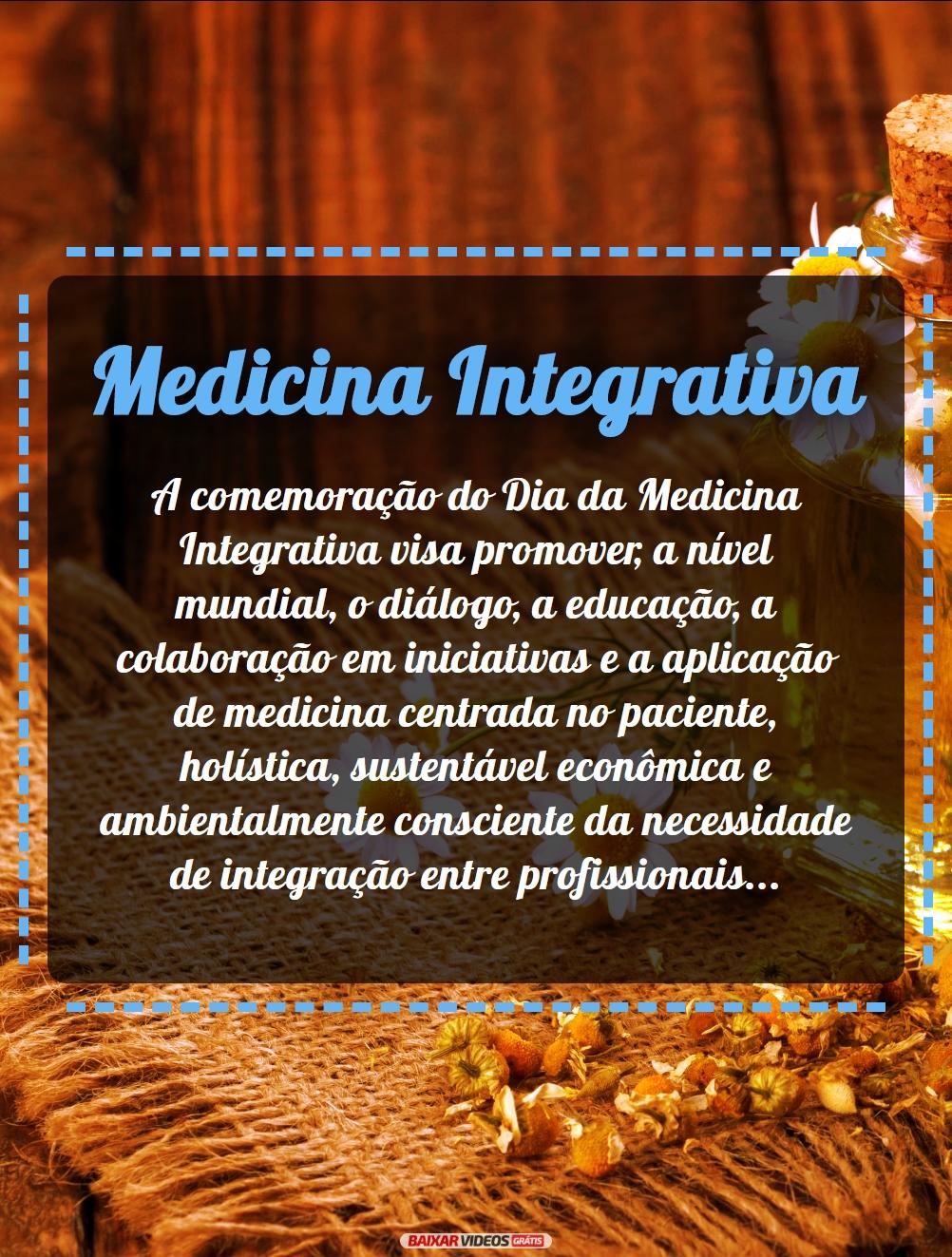 Conheça o que é Medicina Integrativa