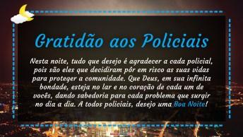 Gratidão Aos Policiais