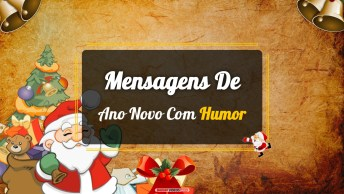 Mensagens e Vídeos de Ano Novo de Humor
