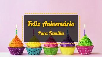 Vídeos de Feliz Aniversário para Família