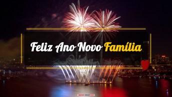 Mensagens e Vídeos de Ano Novo para Família
