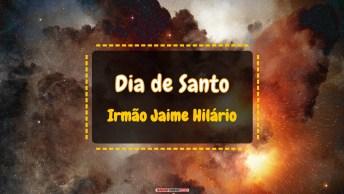 Dia de Santo Irmão Jaime Hilário (mártir de Turón)