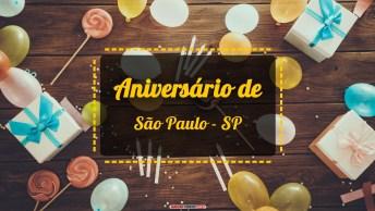Aniversário de SÃO PAULO - SP
