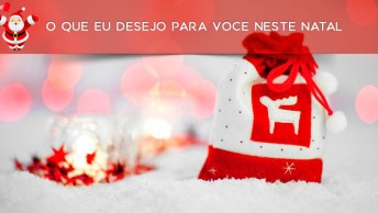 Mensagens O Que Eu Desejo Para Você Neste Natal - Para Facebook!