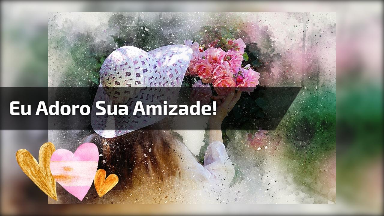 Imagem de amizade para Facebook, compartilhe e marque seus amigos!