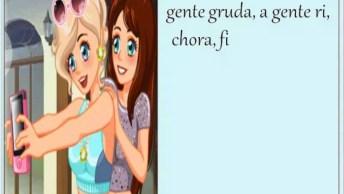 Mensagem De Amizade Para Amiga! Amiga É Assim, A Gente Chora, A Gente Ri. . .!