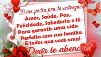 Mensagem De Amizade Para Amigo( A )! Que Deus Te Abençoe Sempre!