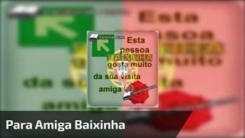 Mensagem Para Amiga Baixinha, Compartilhe Com Ela No Facebook!