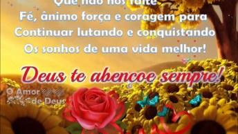 Mensagem Para Amigo Ou Amiga Especial! Deus Te Abençoe Sempre!