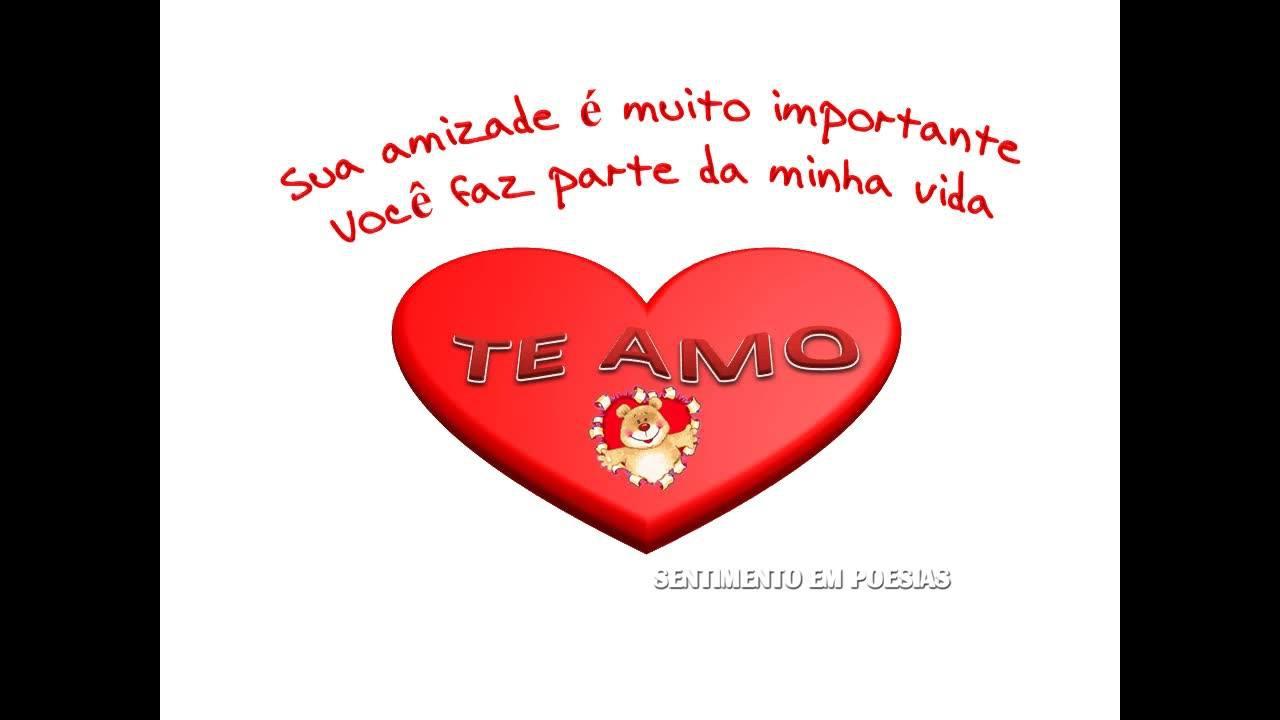 Mensagem para amigo verdadeiro, sua amizade é muito importante para mim!!!