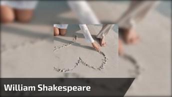 Mensagem Você Aprende De William Shakespeare, Editado Por Carlos Sombra!