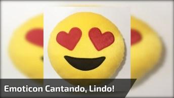 Musica De Amizade Para Whatsapp, Com Emoticon De Coração Cantando!