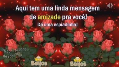 Telemensagem De Amizade Com Voz Feminina, Envie Pelo Whatsapp!