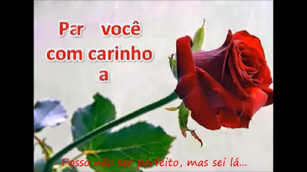 Uma rosa com carinho para um amigo ou amiga