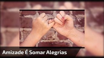 Vídeo Com Mensagem De Amizade Para Mexer Com Coração De Quem Receber!