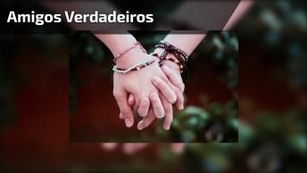 Vídeo Com Mensagem Para Amigos Verdadeiros! Amigos Verdadeiros São Para Sempre!