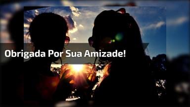 Vídeo De Amizade Para Compartilhar Com Os Amigos! Obrigada Por Sua Amizade!