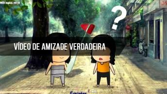 Vídeo De Amizade Verdadeira, Com A Música Count On Me De Bruno Mars!