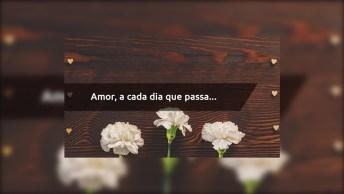 Amor, A Cada Dia Que Passa… Mensagem Apaixonada!