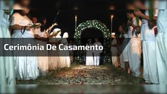 Cerimônia De Casamento No Candomblé, Lindo Igual A Qualquer Religião!