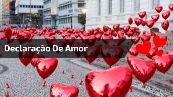 Declaração De Amor Para Valentine'S Day, Compartilhe No Facebook!