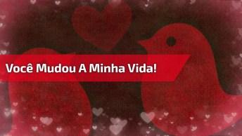 Dia Dos Namorados - Mensagens Lindas - Você Mudou A Minha Vida!