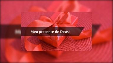 Esposa, Meu Presente De Deus - Frase Para Esposa Evangélica!