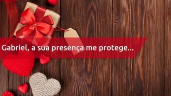 Feliz Dia Dos Namorados Para Gabriel - Uma Mensagem Personalizada!